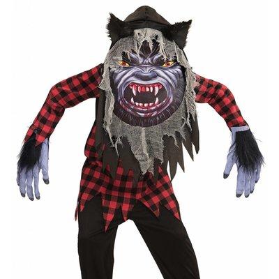Weerwolf Kostuum Groot Hoofd