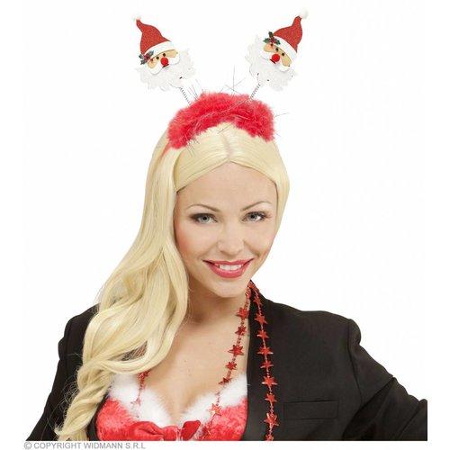 Widmann Bopper Kerstman Met Boa En Klatergoud