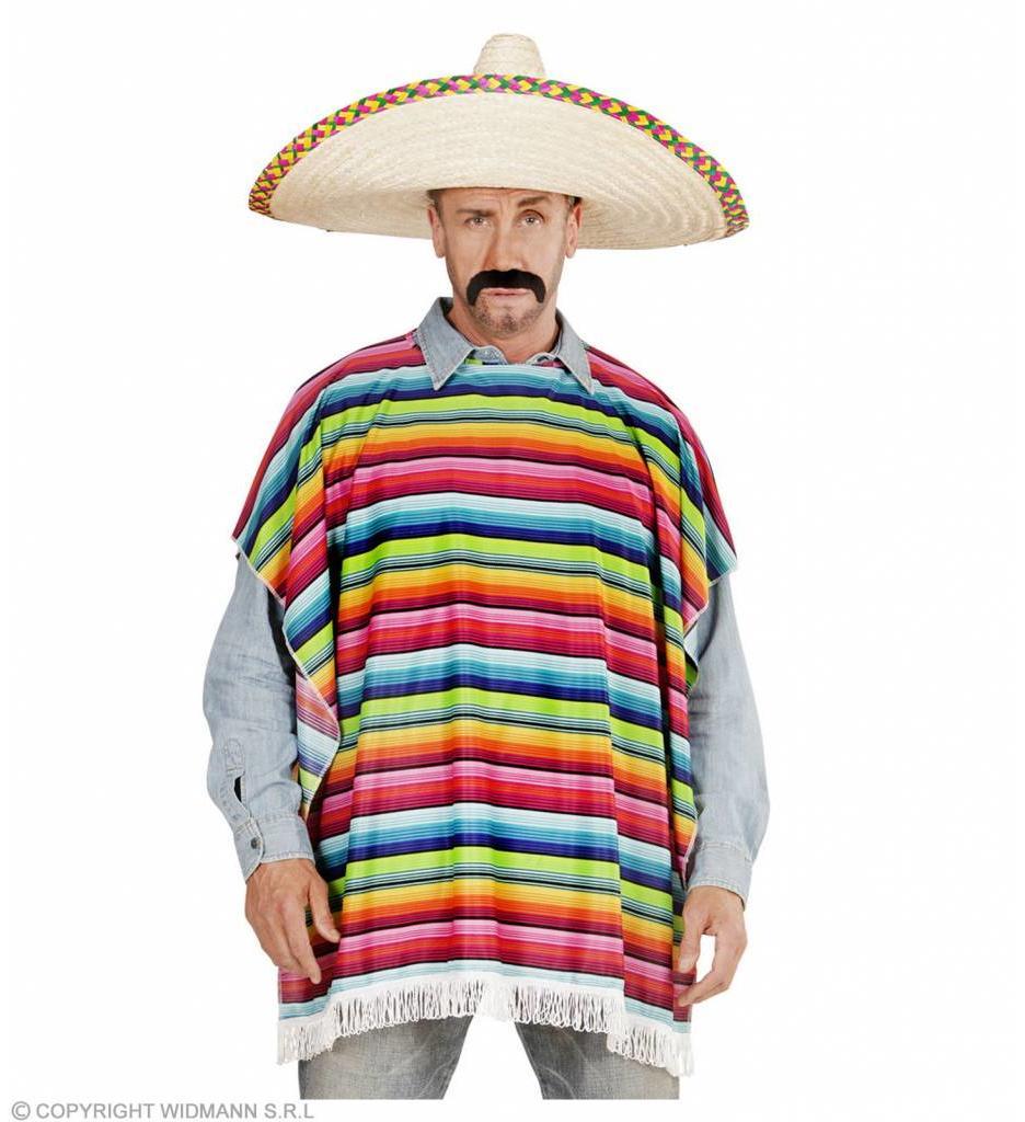 Mexicaanse Poncho Volwassen