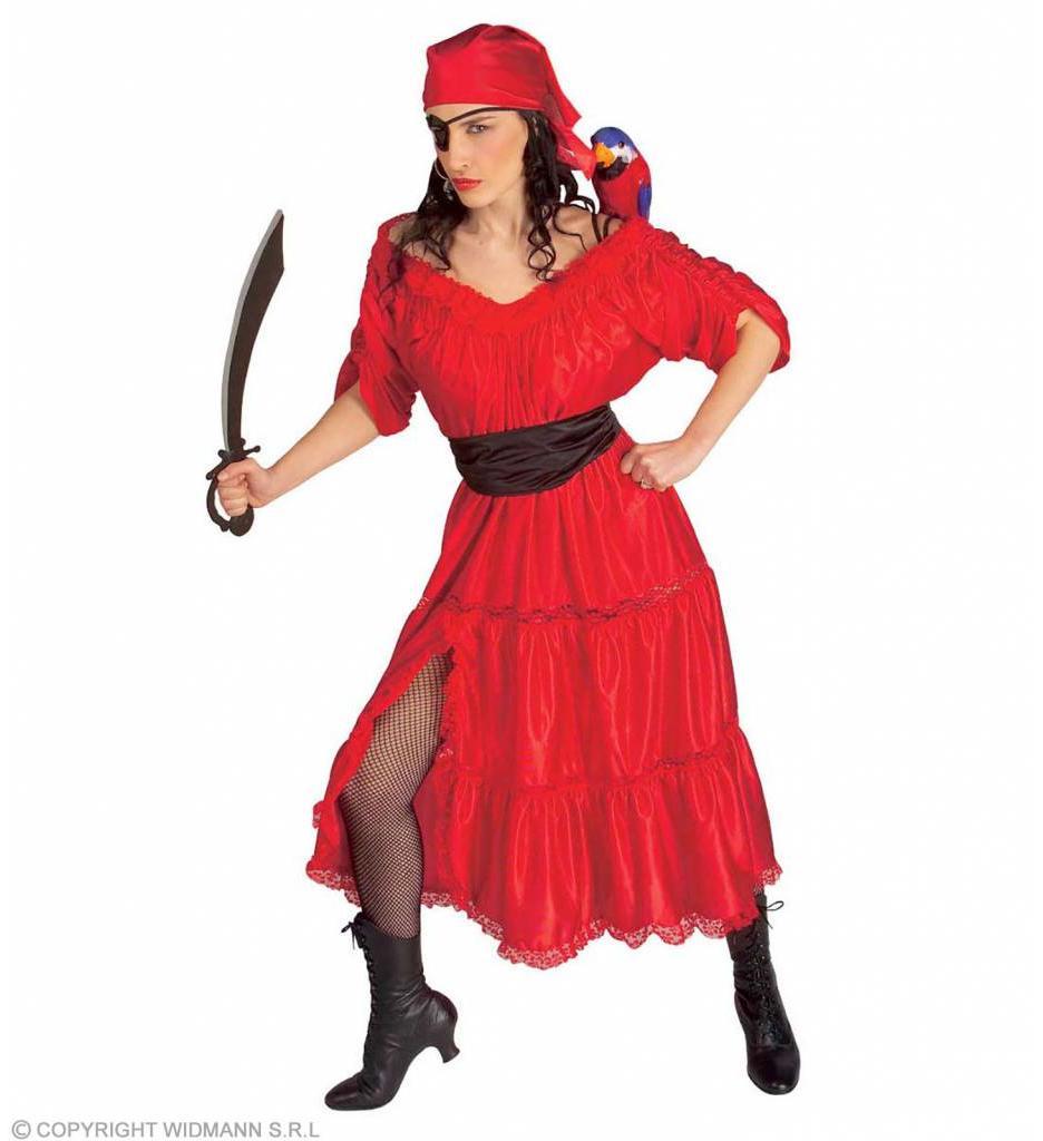 Caraibische Piratenvrouw