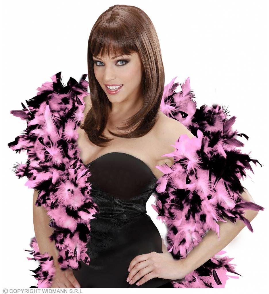 Boa Meerkleurig Zwart/Roze