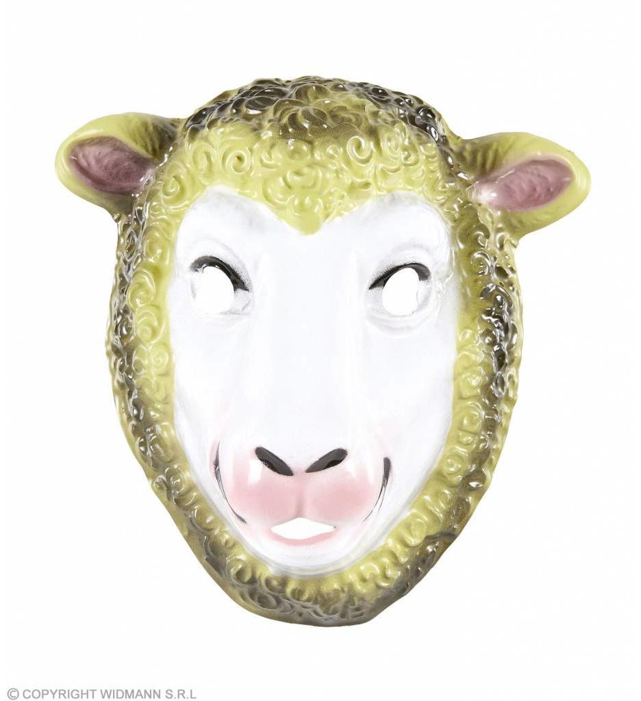 Pvc Schapen Masker Kind