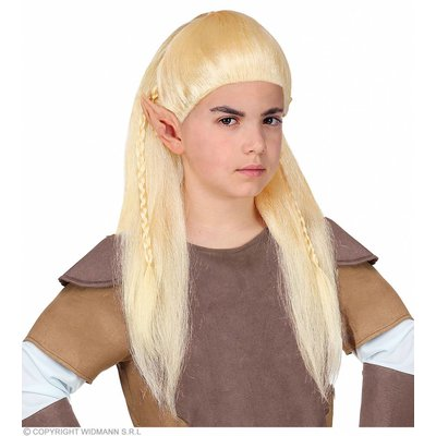 Pruik Kind Fantasie Elf