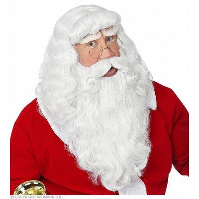 Kerstman Luxe Baardset Met Snor