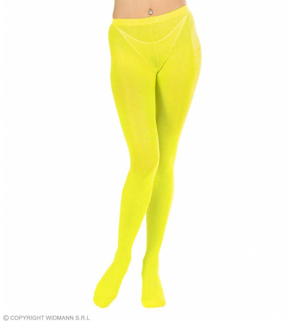 Panty Neon 40 Den Geel