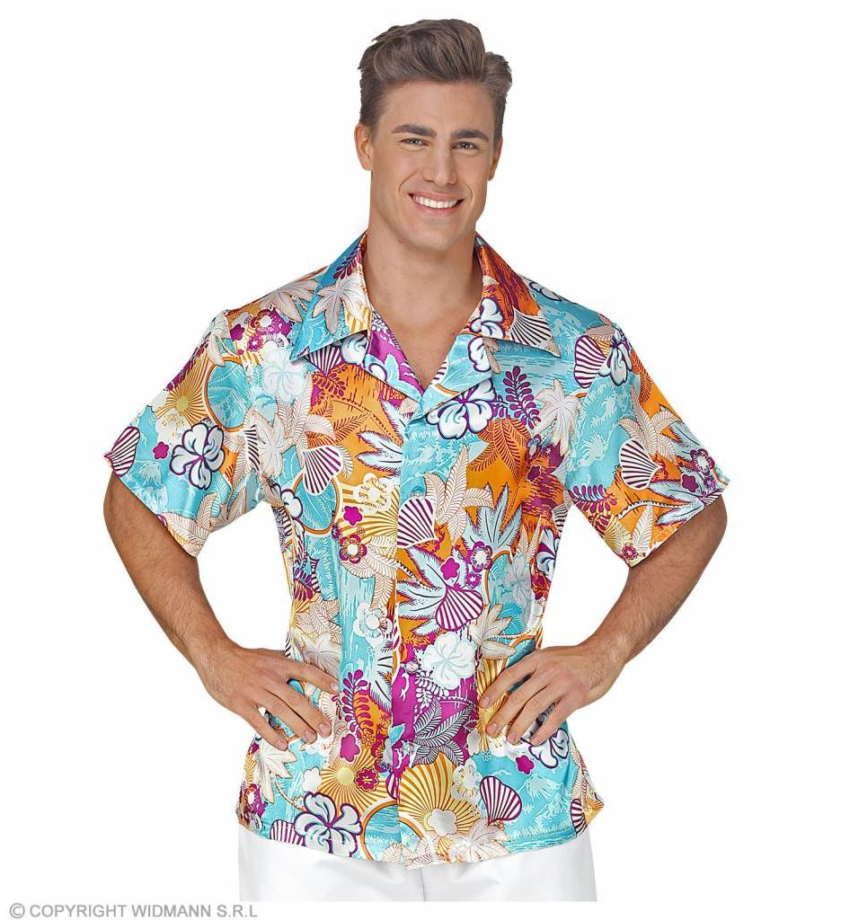Hawaiishirt Satijn