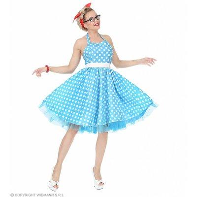 Modejurk 50'S Lichtblauw