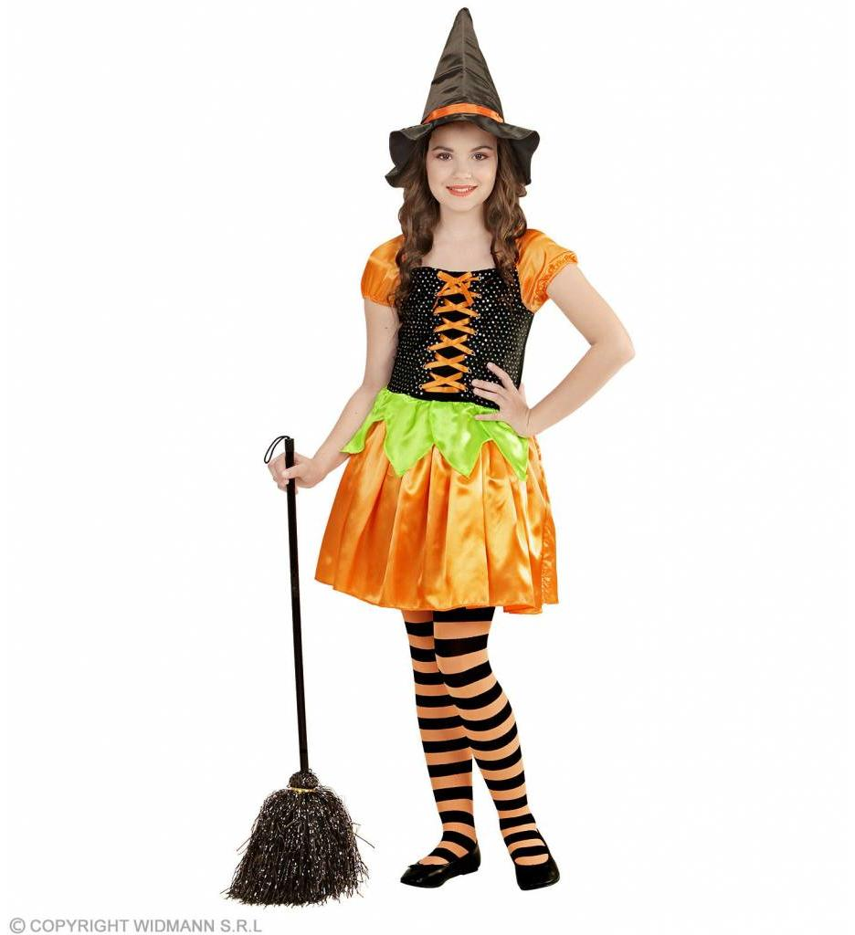 Heksenjurk Oranje Kind