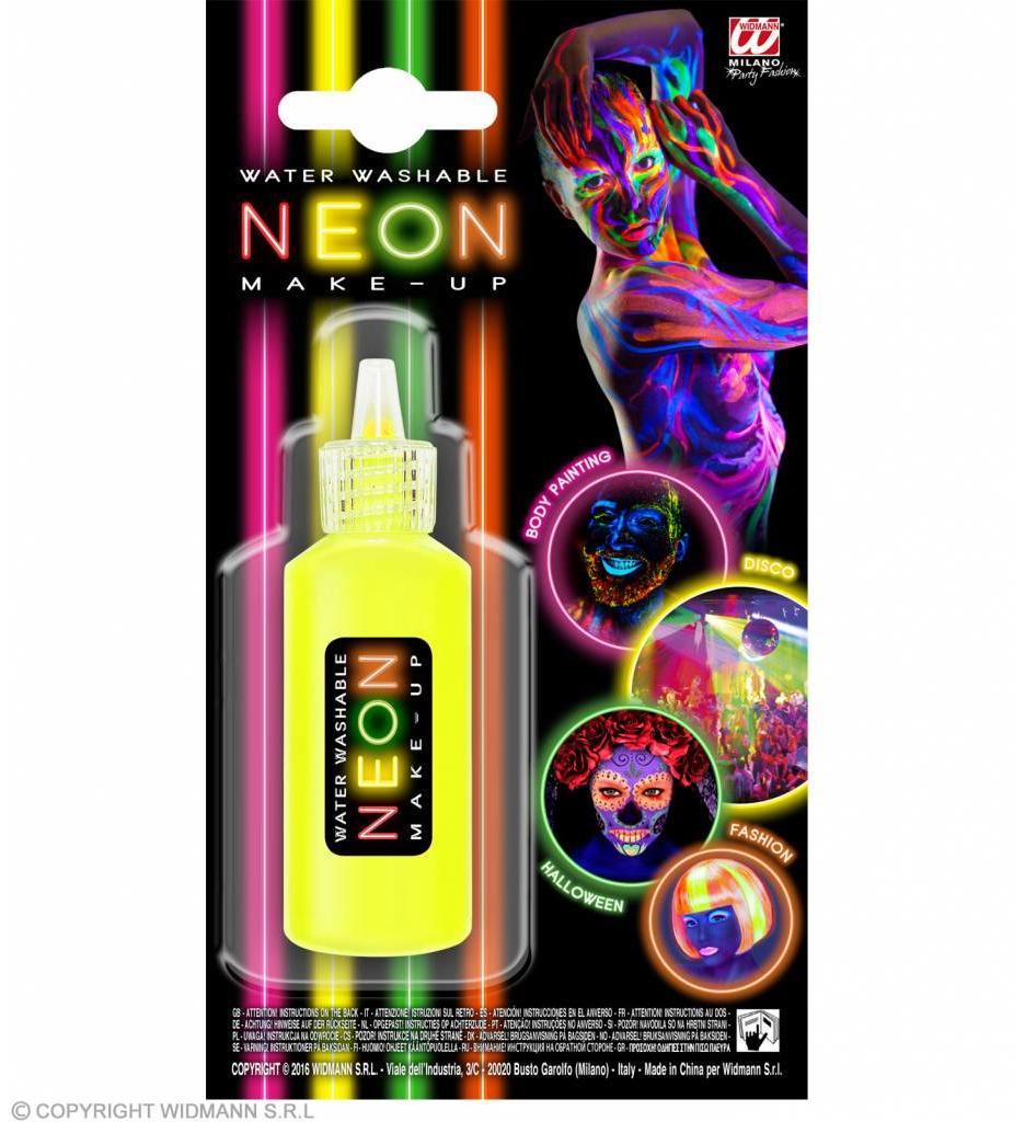 Make-Up Spray Neon Geel
