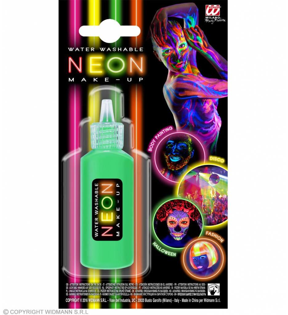 Make-Up Spray Neon Groen