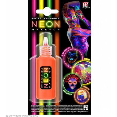 Make-Up Spray Neon Oranje