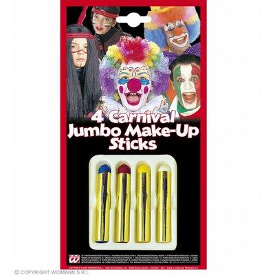 Schminkstiften Jumbo Set Van 4