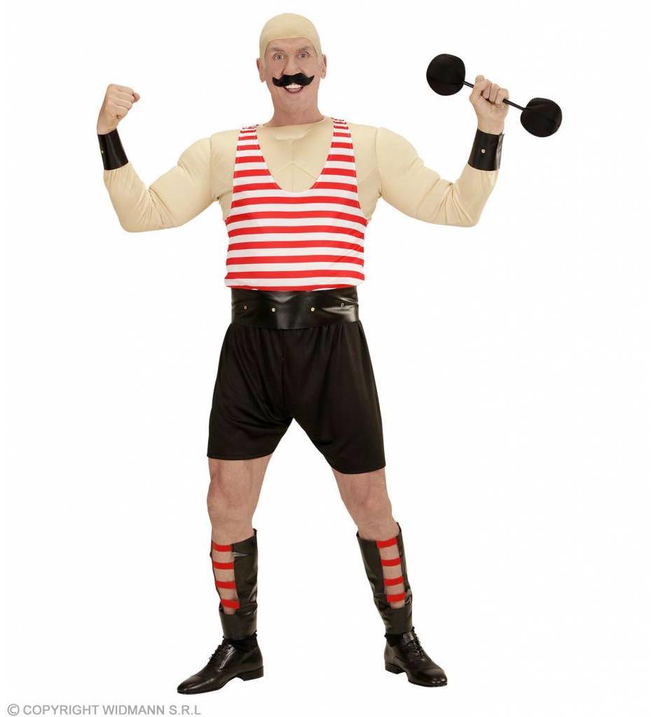 Circus Kostuum Sterke Man