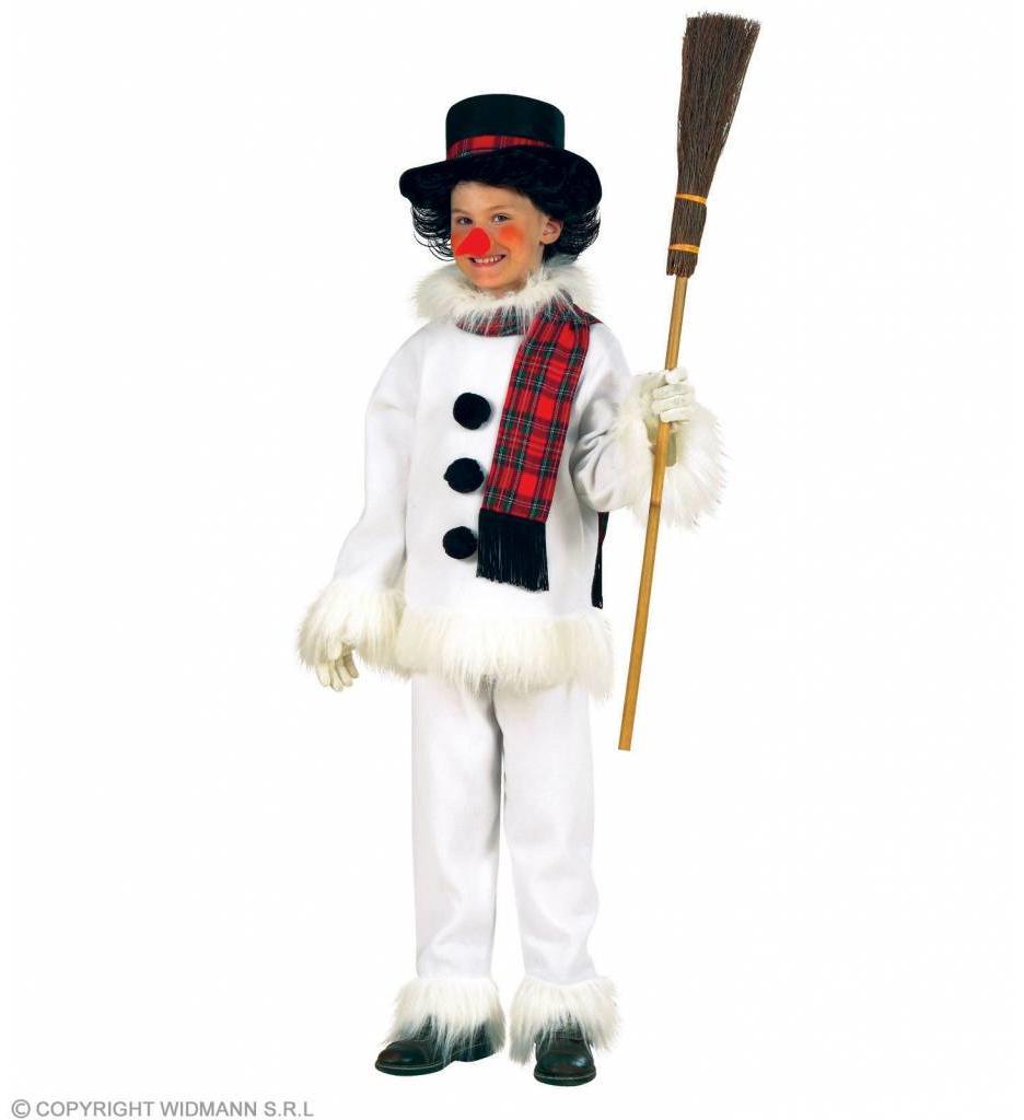 Sneeuwman Kind Flanel & Pluche