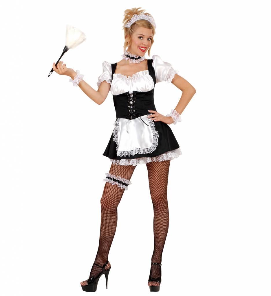 Kamermeisje Zwart/Wit