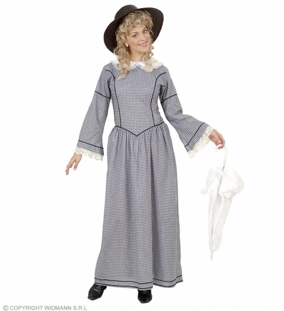 Victoriaanse Dame Grijs