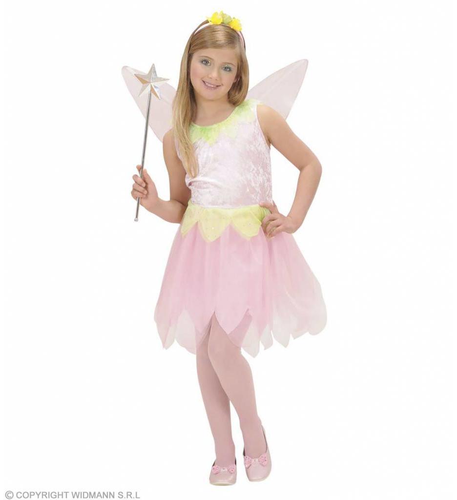 Pixie Roze Bloem Fee Kostuum