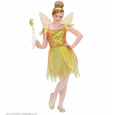 Pixie Gouden Woud Fee Kostuum