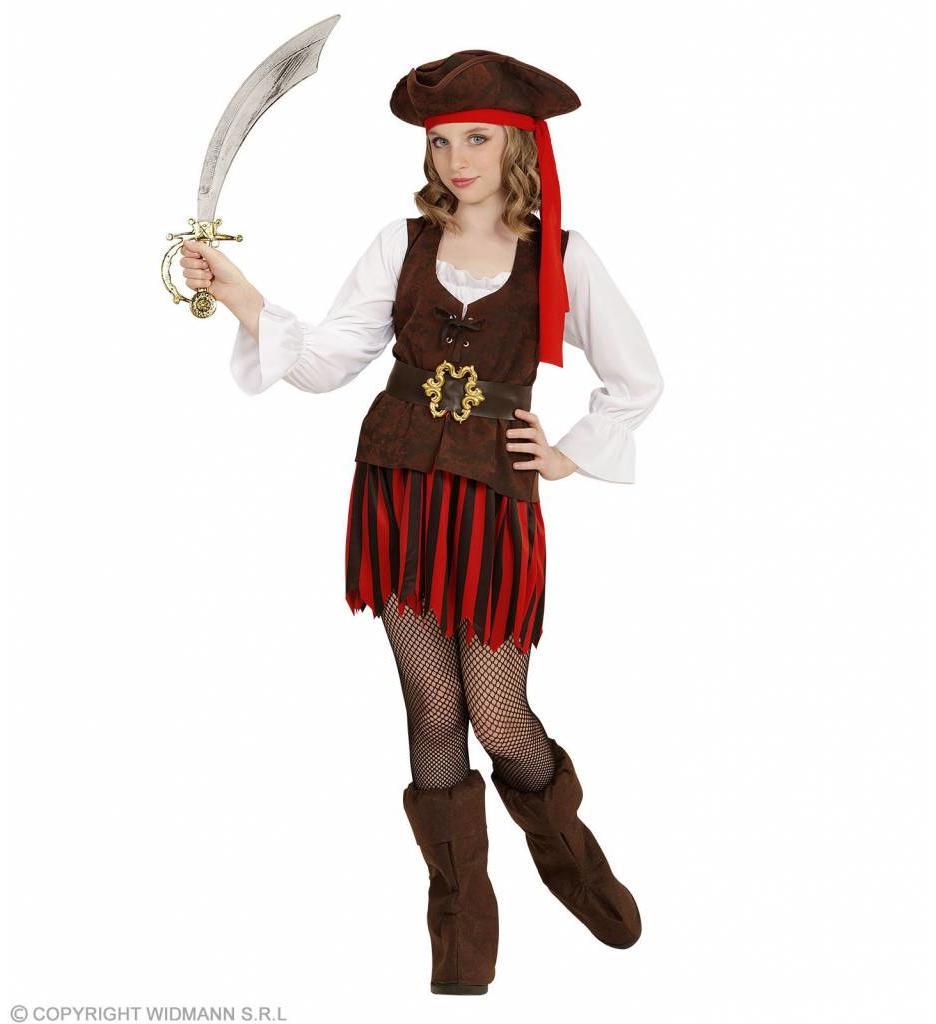 Carraibische Piratenmeisje