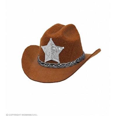 Mini Cowboyhoed Bruin