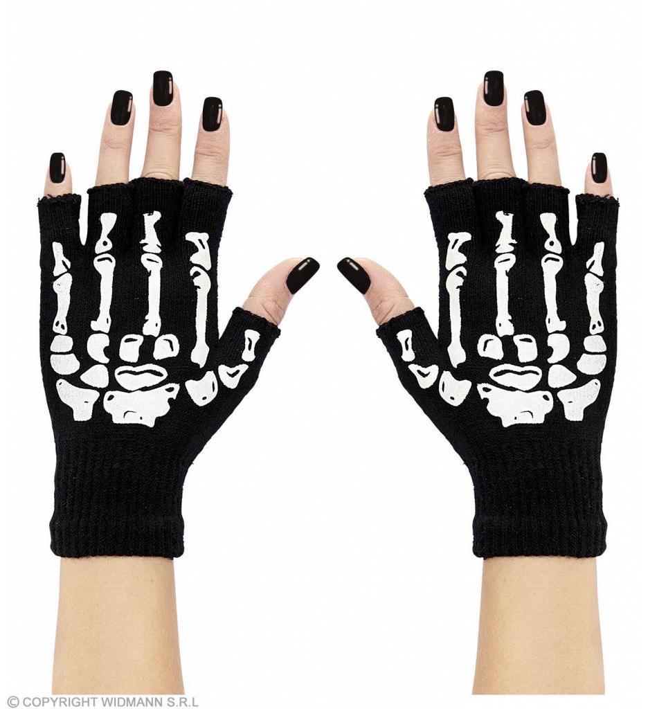 Vingerloze Handschoen Skelet