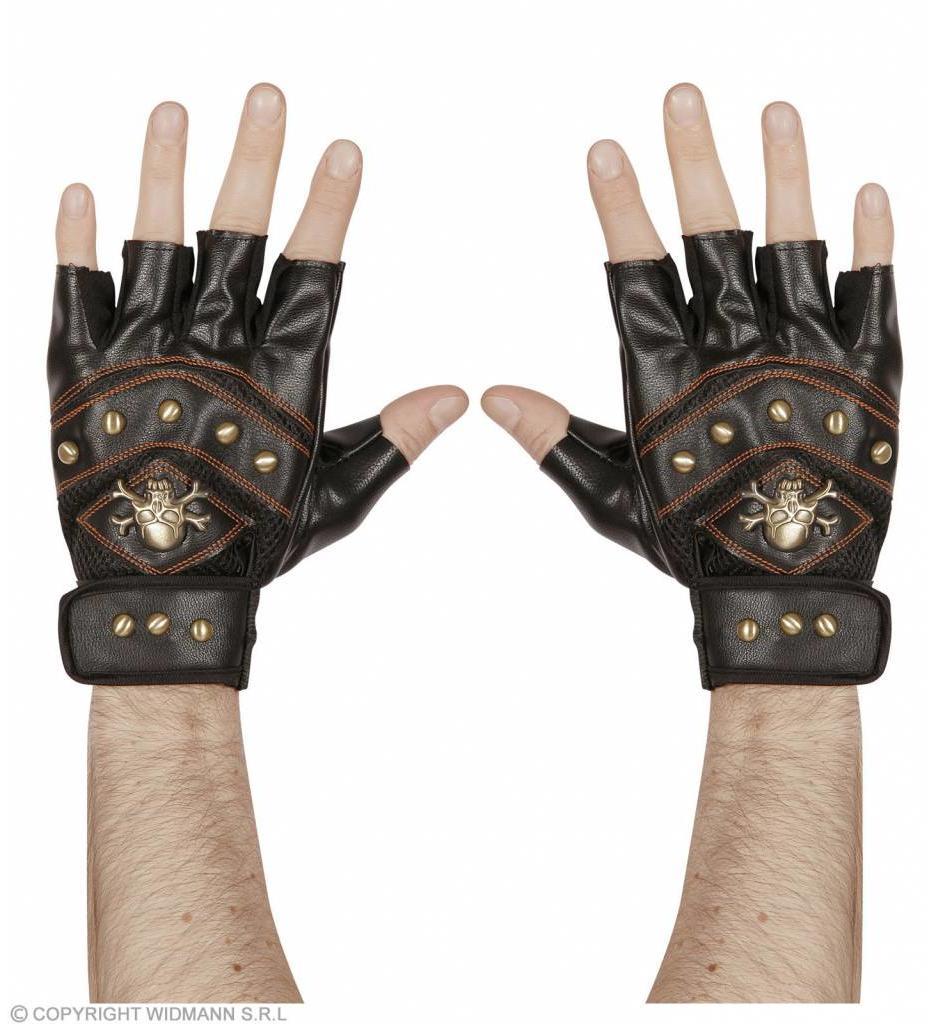 Vingerloze Handschoen Met Nagels