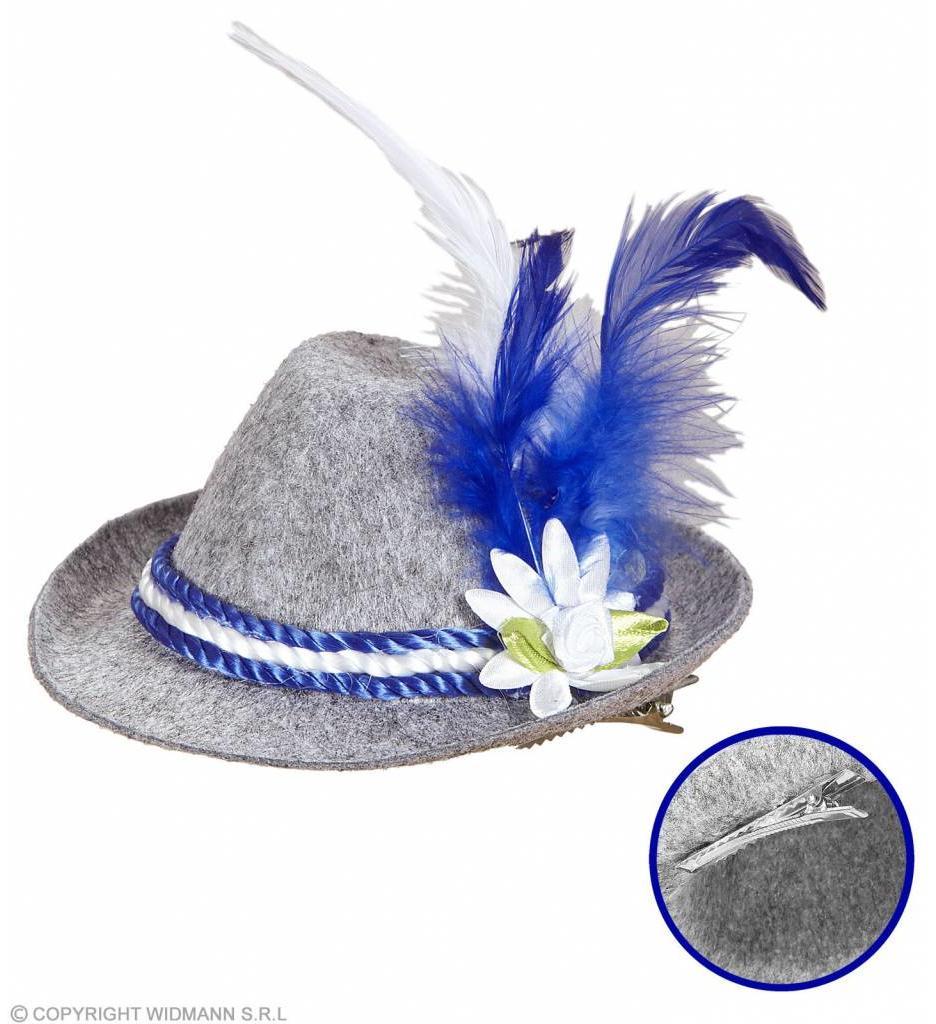 Mini Beierse Fedora Blauw