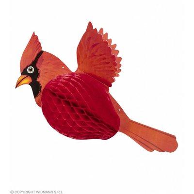 Honingraat Kardinaalvogel 42Cm