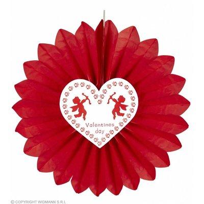 Papieren Waaier Valentijnsdag