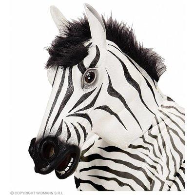 Masker Zebra Met Haar
