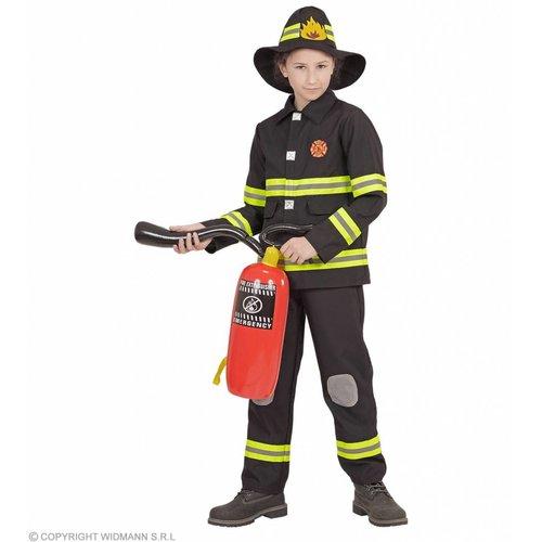 Widmann Brandweer Zwart Kind