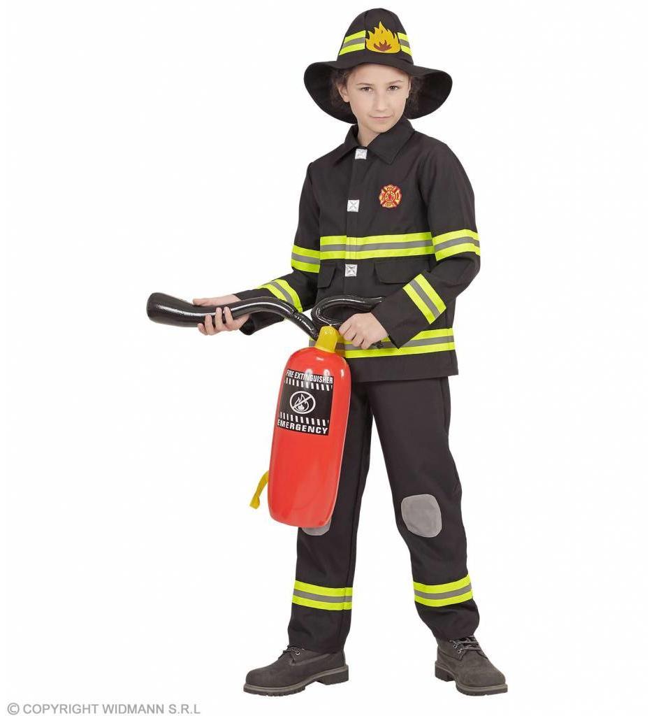 Brandweer Zwart Kind