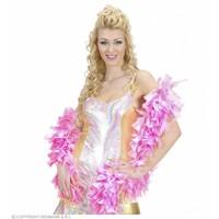 Boa. 2-Kleurig Wit/Roze 180Cm
