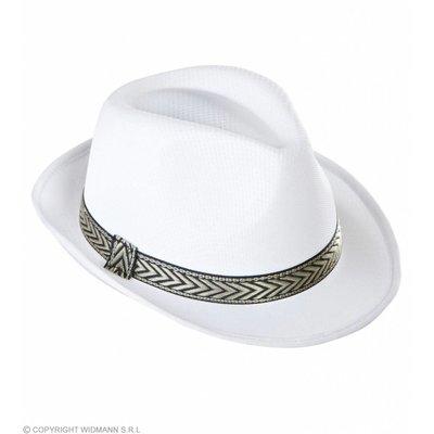 Witte Fedora Panama