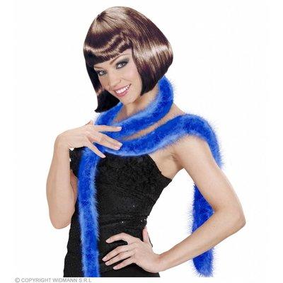 Decoratieve Boa Blauw