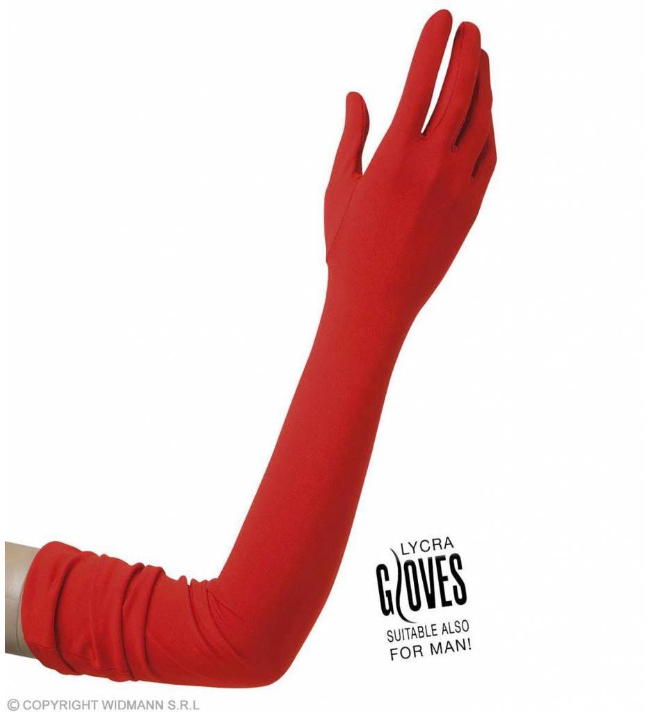 Handschoenen Lycra Rood