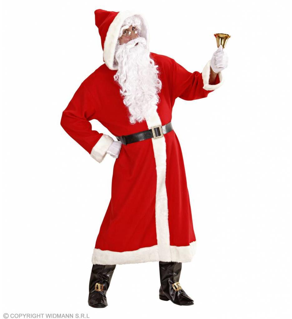 Luxe Oud Kostuum Kerstman