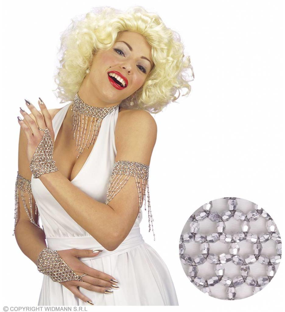 Zilveren Gebogen Armband