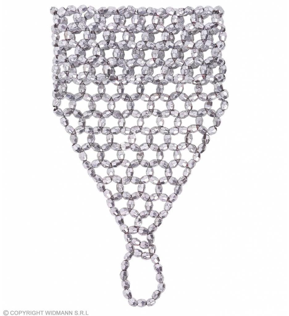 Vingerhandschoen Uit Zilveren Pareltjes