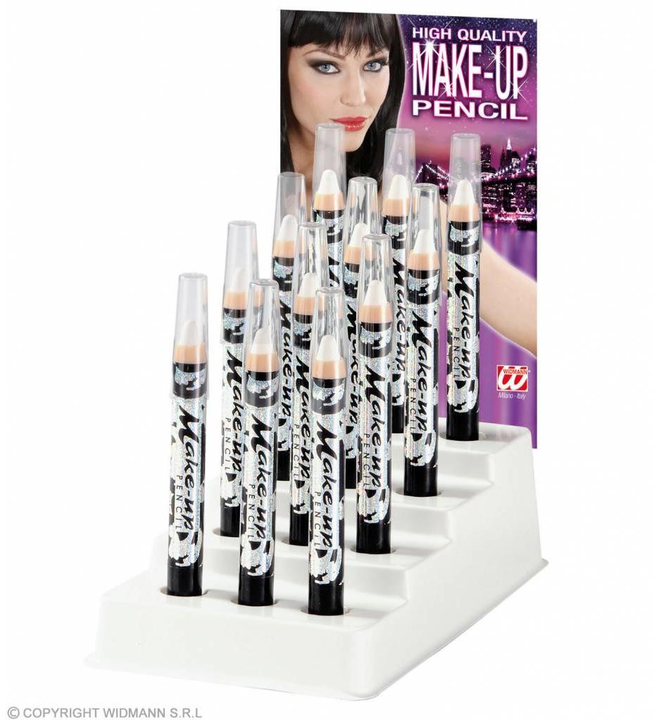 Display Make-Up Potlood Wit