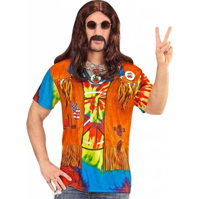T-Shirt Hippie Man