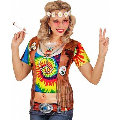 T-Shirt Hippie Vrouw