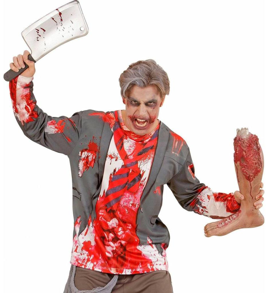 T-Shirt Lange Mouwen Zombie Man