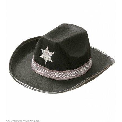 Hoed Sheriff Kind Zwart