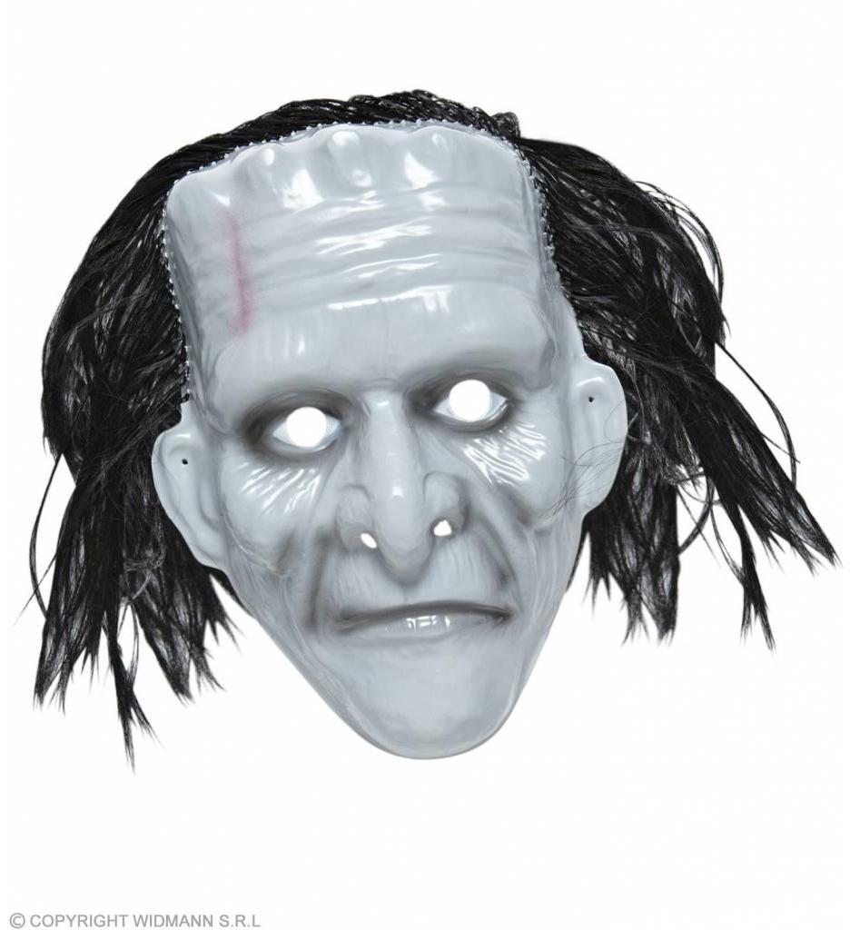 Pvc Monster Masker Met Haar
