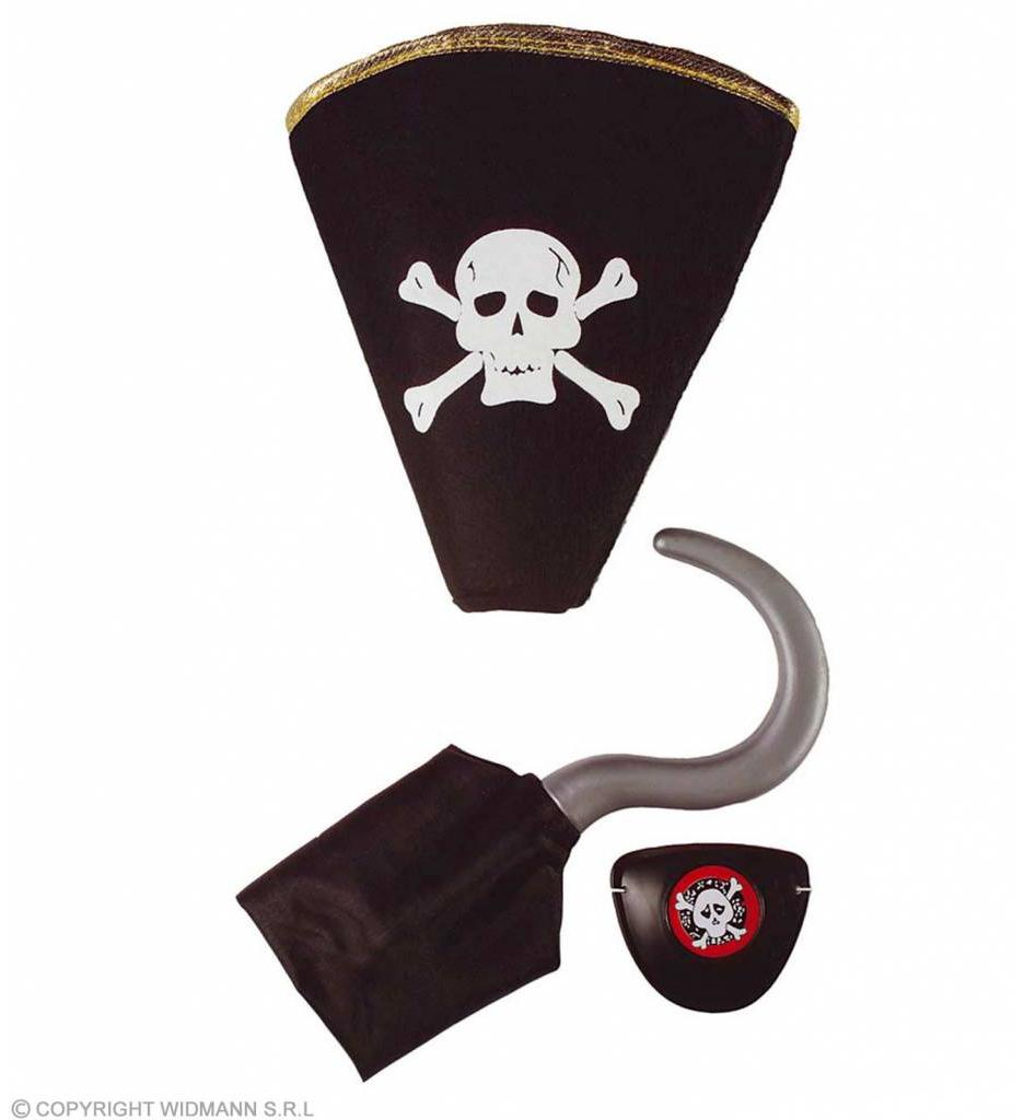 Piratenset (HaakHoed Ooglap)