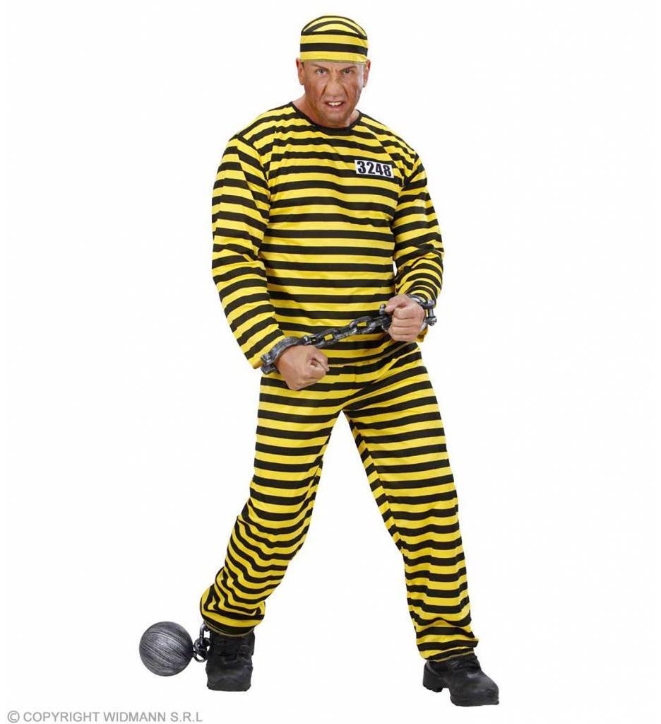 Gevangene Zwart/Geel