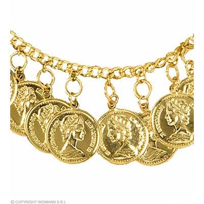 Enkelband Met Gouden Penningen
