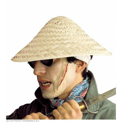 Hoed Vietkong Blanco