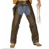 Widmann Bruine Cowboychaps Lederlook